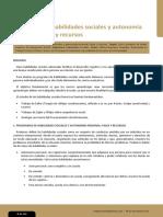 Programa de Habilidades Sociales Conductuales