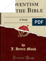 J. Henry Monk - Adventism and the Bible
