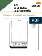(Mantenimiento Caldera Gas completa) Manual Caldera Gas Cointra C15 C20.pdf