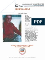 Missing adult, Melvin Heaps