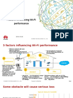 Factors Influencing Wi-Fi Performance - huawei