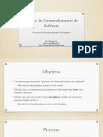 Aula 04 - Processo de Desenvolvimento de Software