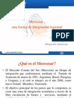 Mercosur,Una Forma de Integración Regional.