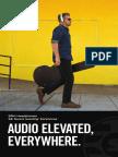 Earphone Headphone Brochure English
