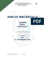 Examen Final Dibujo Mecanico II 01-12-2006-B-2