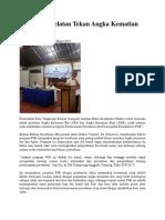 Tangerang Selatan Tekan Angka Kematian Ibu Dan Bayi