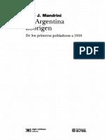 Mandrini Raul - La Argentina Aborigen