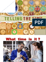 1 - Telling the Time -PPT