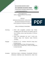 SK Orientasi Penanggung Jwab UKM Dan Pelaksana Program Baru