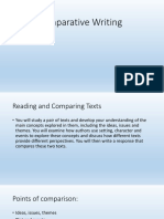 comparative writing