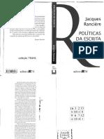 RANCIÈRE, Jacques. Políticas da escrita.pdf
