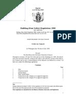 Building Dam Safety Regulations 2008