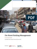 GIZ SUTP TD14 on Street Parking Management En