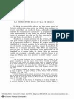 La Estructura Dualistica de Maria - Seymour Menton