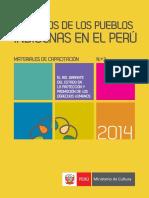 Pueblos Indigenas en El Perú