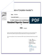 mnol general training certificate