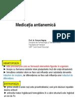 MEDICATIA ANTIANEMICA