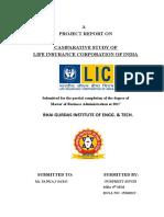 Gurpreet's Project on LIC India