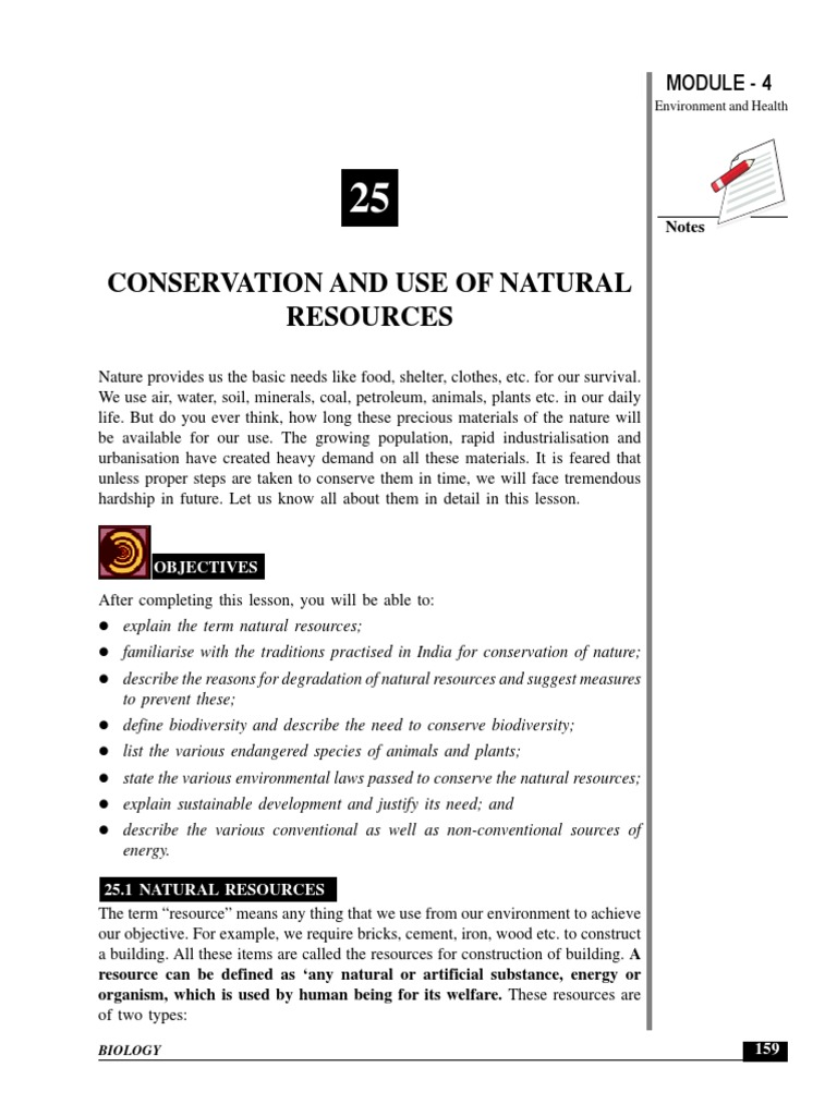 what are the two types of natural resources