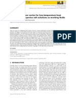 Absorption Power Cycles for Low-temperature Heat Sources Using Aqueous Salt Solutions as Working Fluids