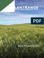 Slantrange 2017 Product Guide