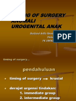 Timing of Surgery (Makassar)