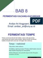 Mikrobiologi Pangan - BAB 8 - Fermentasi Kacang-Kacangan.ppt