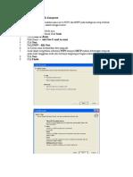 Cara Setting Outlook Di Komputer