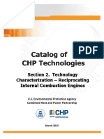 Catalog of Chp Technologies Section