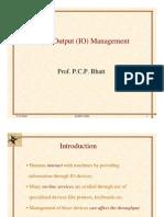 I/O management in OS