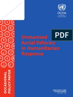 Unmanned Aerial Vehicles in Humanitarian Response OCHA July 2014