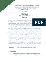 Contoh KARIL 1 - UT PGSD - PDGK4506 (Soaluasut.blogspot.com)