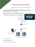 Configurando uma rede local básica com o D-Link DI-524