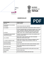 _document_List of Exhibitors1 - Textiles India 2017
