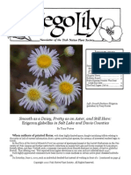 January-February 2010 Sego Lily Newsletter, Utah Native Plant Society