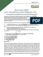 GMAT Verbal Handout