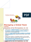 Managing Global Team
