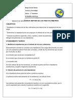 6) Medida de Impedancia - Metodo de Los Tres Voltimetros