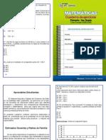 Matemáticas. Cuaderno de ejercicios. Primaria. 3er Grado