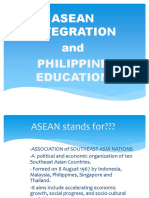 Asean Integration Report