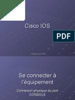 CCNA 02 Introduction à l'IOS