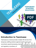 TeamLease Temporary Staffing