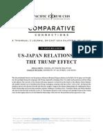 Us and Japan Trump Effecgt