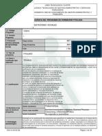 Programa Formativo Nomina