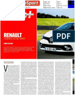 "RENAULT CLIO R.S. 220 EDC TROPHY NO ""AUTOSPORT"""