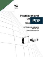 Operational Manual APC SURT5000