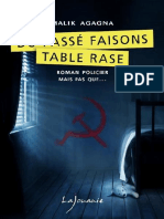 Du Passe Faisons Table Rase Agagna Malika