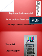 Equipoe Instrumental Laparoscopico