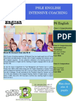 June Intensive P6 Classes 2017