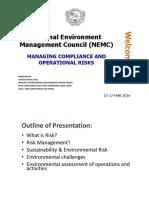 Nemc Risks Management